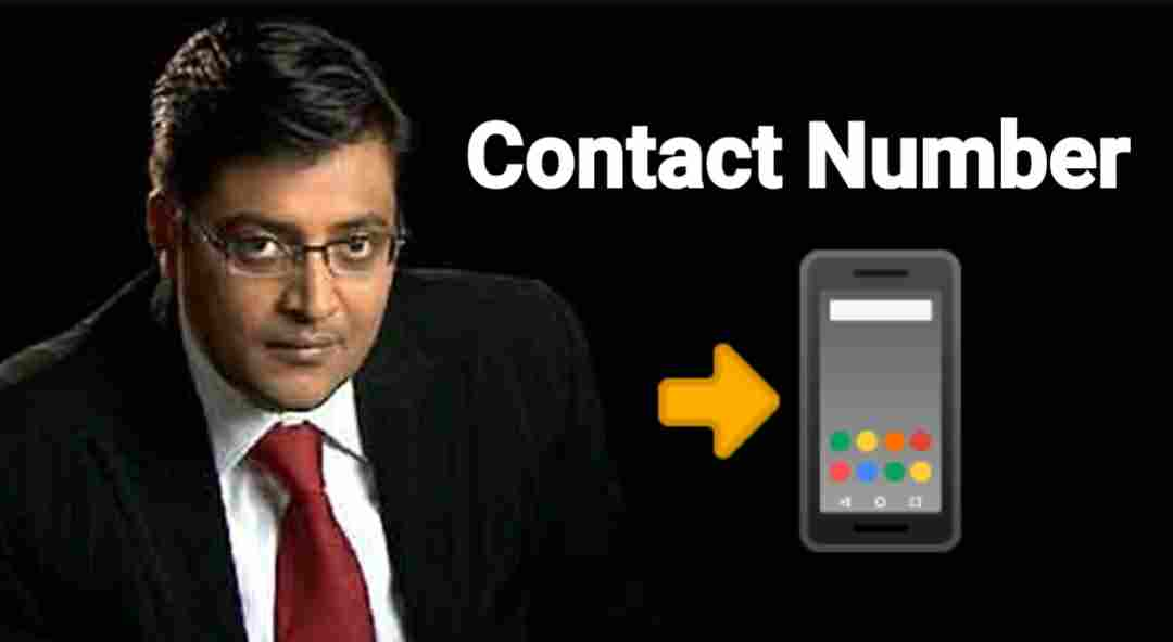 arnab goswami contact number