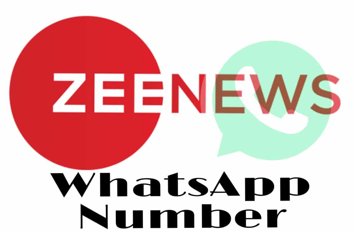 zee news whatsapp number
