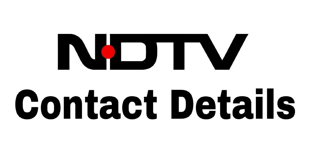 NDTV contact number